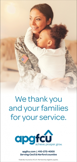 We Thank you and Your Families