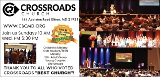 Best Church, Crossroads Church, Baltimore, MD
