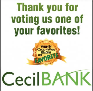 Thank you for Voting Us one of Your Favorites!