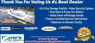 1 Boat Dealer, Tome's Landing Marina, Port Deposit, MD