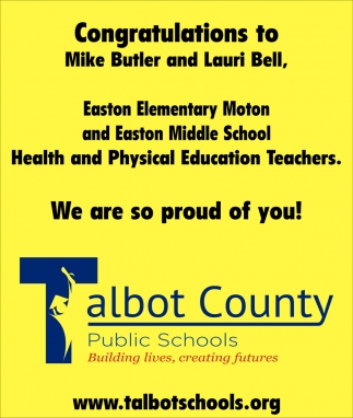 Congratulations to Mike Butler and Lauri Bell