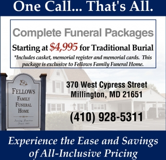 Complete Funeral Packages