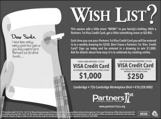 Wish List?