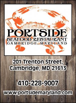 Seafood Restaurant, Portside Seafodd Restaurant, Cambridge, MD