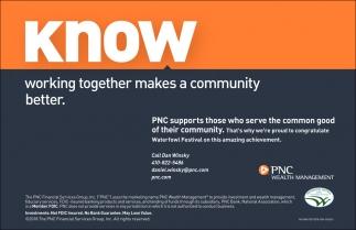 Know, PNC Wealth Management, Easton, MD