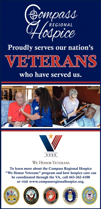 Proudly Serves our Nation's Veterans