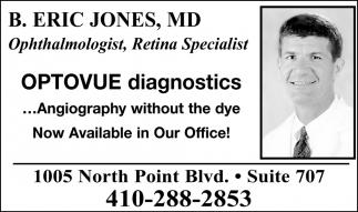 Ophthalmologist, Retina Specialist