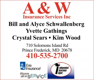 A And W Insurance Services Inc