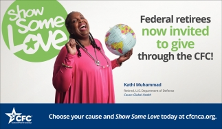 Federal Retirees Now Invited to Give Through the CFC!