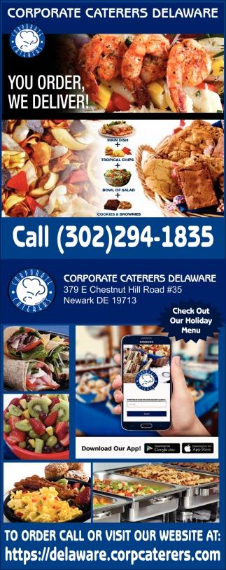 You Order. We Deliver!