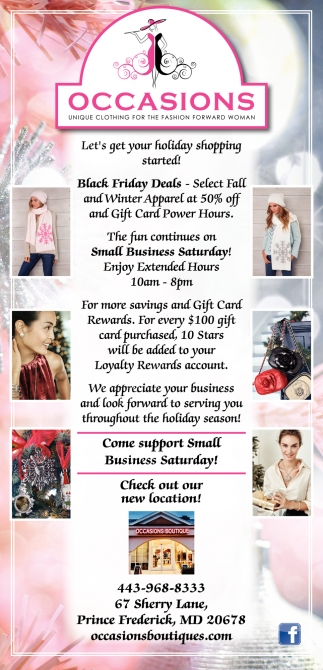 Let's get your Holiday Shopping Started!