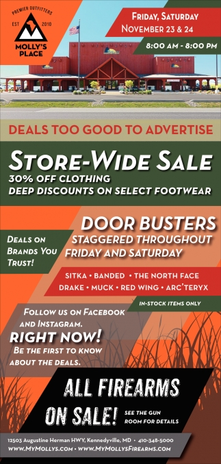 Store-Wide Sale