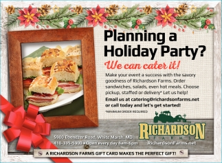Planning a Holiday Party?