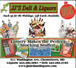 Lottery Makes the Perfect Stocking Stuffer