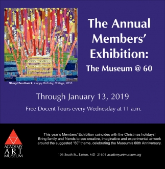 The Annual Member's Exhibition