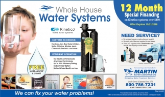 Whole House Water Systems