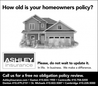How Old is your Homeowner Policy?