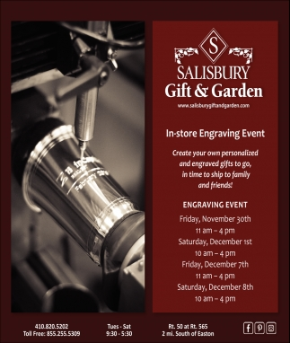 In-Store Engraving Event