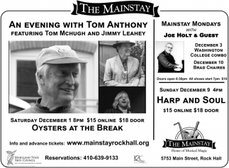An Evening with Tom Anthony