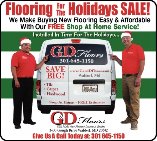 Flooring for the Holidays Sale!