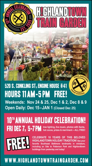 10th Annual Holiday Celebration!