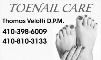 Toenail Care