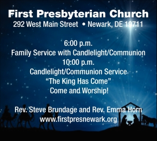 Family Service with Candlelight/Communion