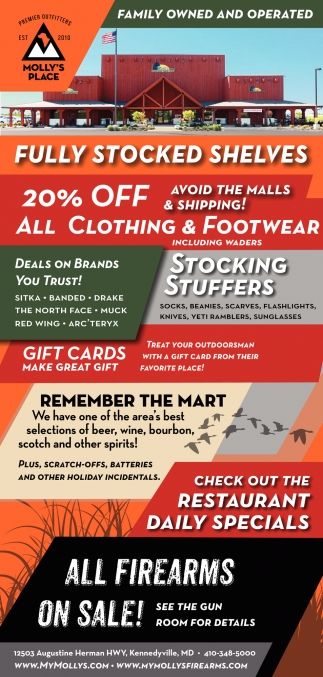 20% OFF All Clothing & Footwear
