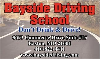 Don't Drinl & Drive