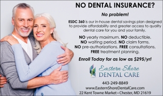 No Dental Insurance? No Problem