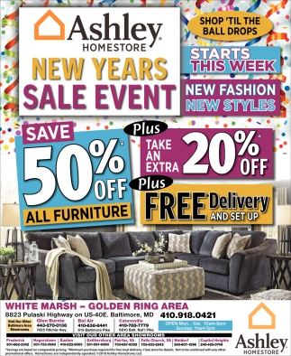 50% OFF All Furniture