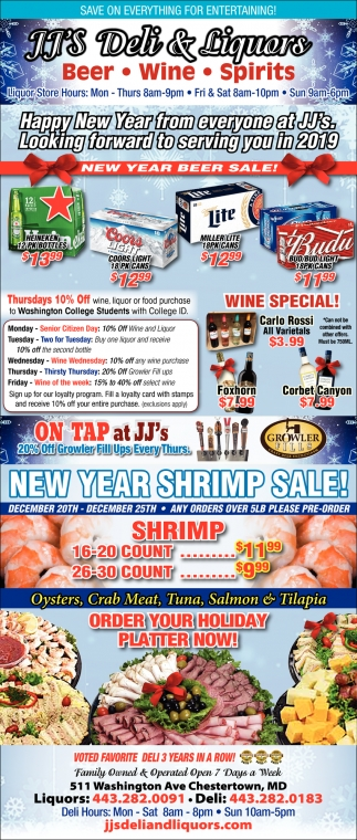 New Year Beer Sale