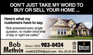 Buy or Sell Your Home