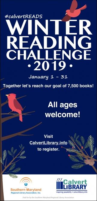 Winter Reading Challenge 2019