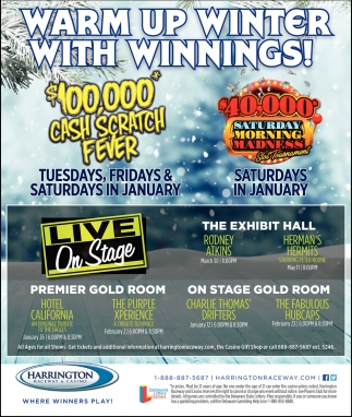 Warm Up Winter with Winnings