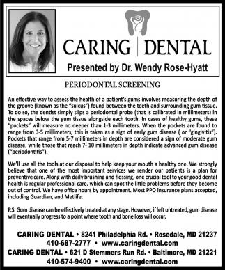 Periodontal Screening