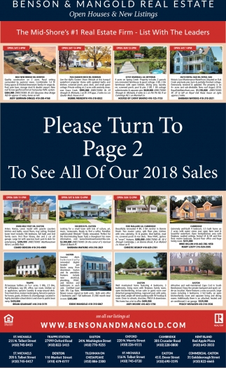 Open Homes & New Listings