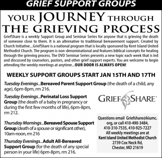Your Journey Through the Grieving Process