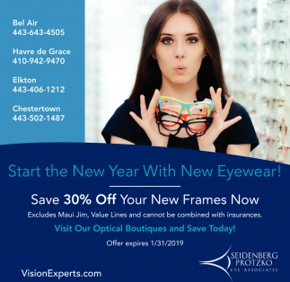 Start the New Year with New Eyewear
