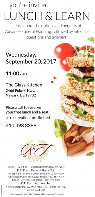 Lunch And Learn The Glass Kitchen