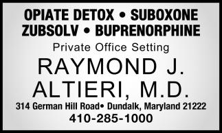 Opiate Detox