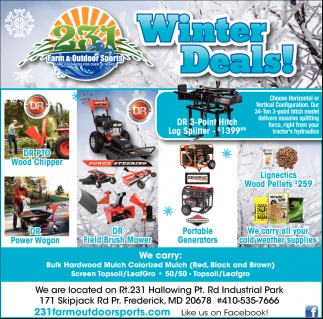 Winter Deals!