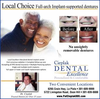 Local Choice for Dental Implants
