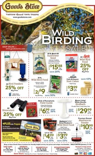 Wild Birding Sale