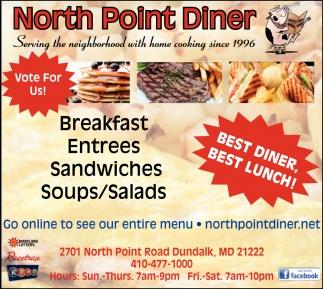 Best Diner, Best Lunch!
