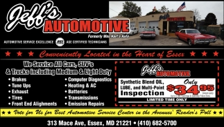 We Service All Cars
