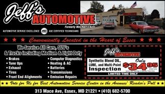 all cars auto service