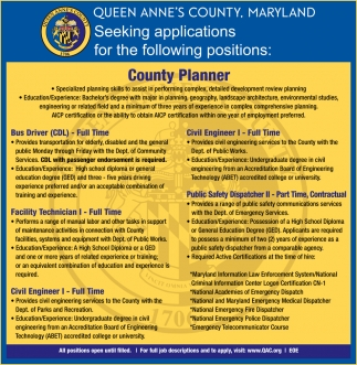 County Planner