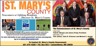 Discover St. Mary's County