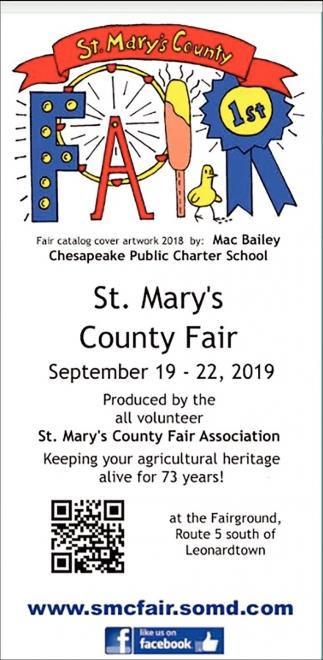 2019 St. Mary's County Fair